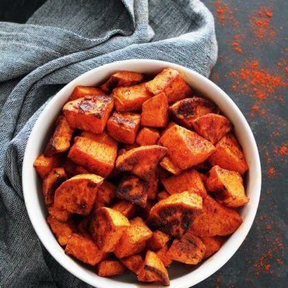 Смажена картопля з копченою паприкою